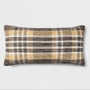 Threshold Accents Threshold Woven Plaid Lumbar Throw Pillow 2x24 Poshmark